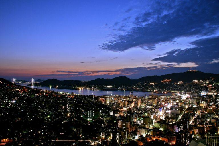 Night view of Nagasaki