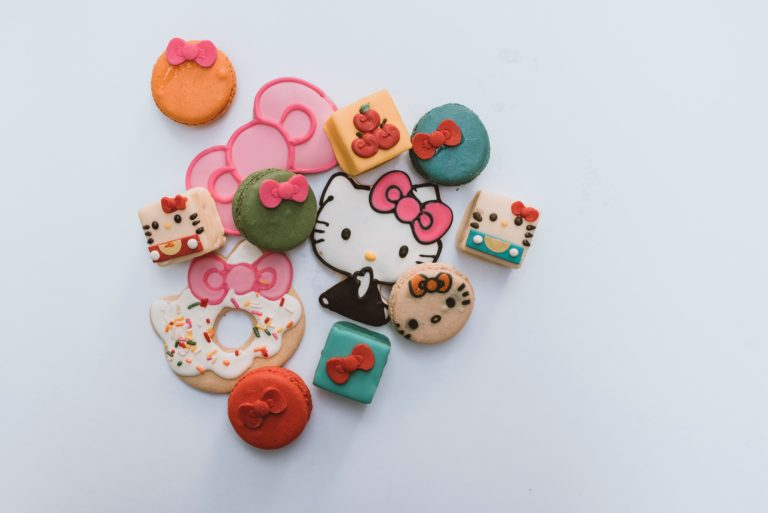 Hello Kitty themed sweets