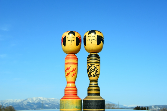 Make your own kokeshi dolls at Usaburo Kokeshi Factory