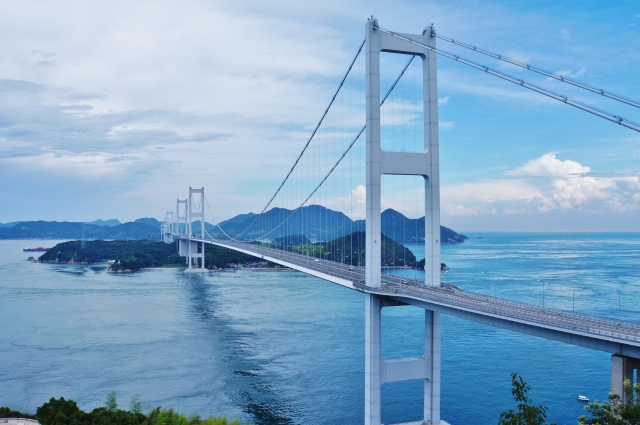 Cycling the scenic Shimanami Kaido