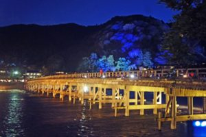 A night in Arashiyama will take you to the magical moon kingdom