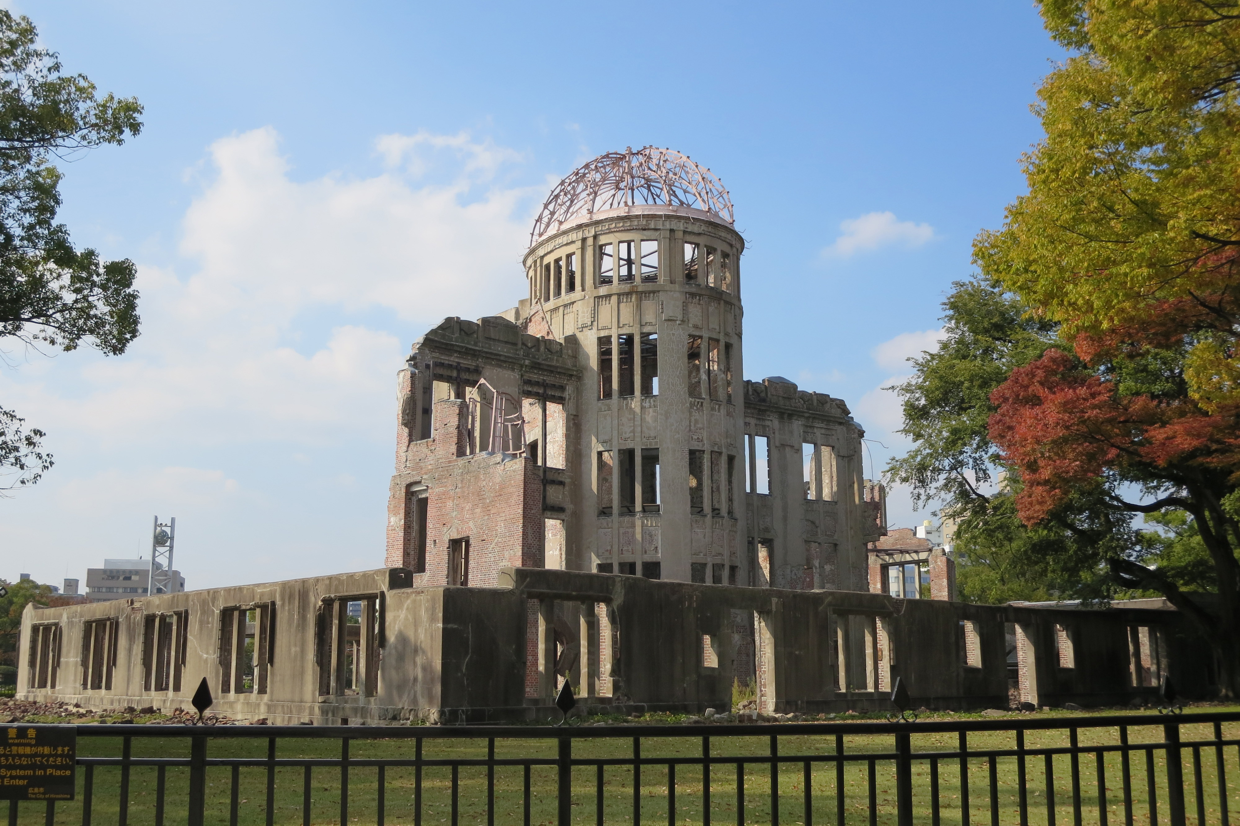 A city's past and present: Three days spent in Hiroshima