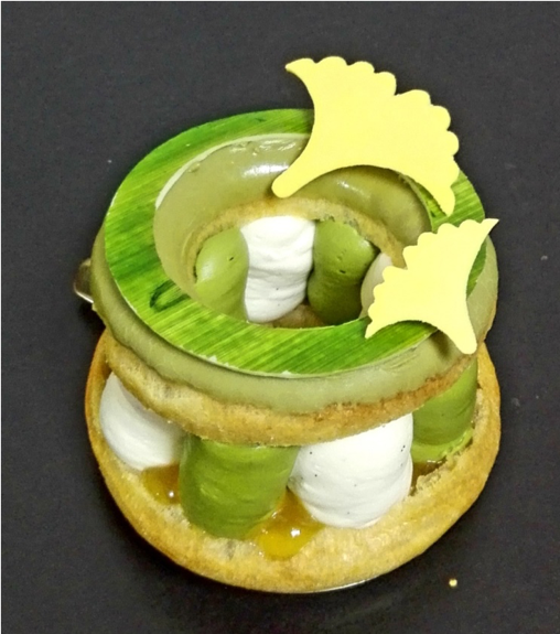 Picture of a Paris-Brest with a Japanese twist