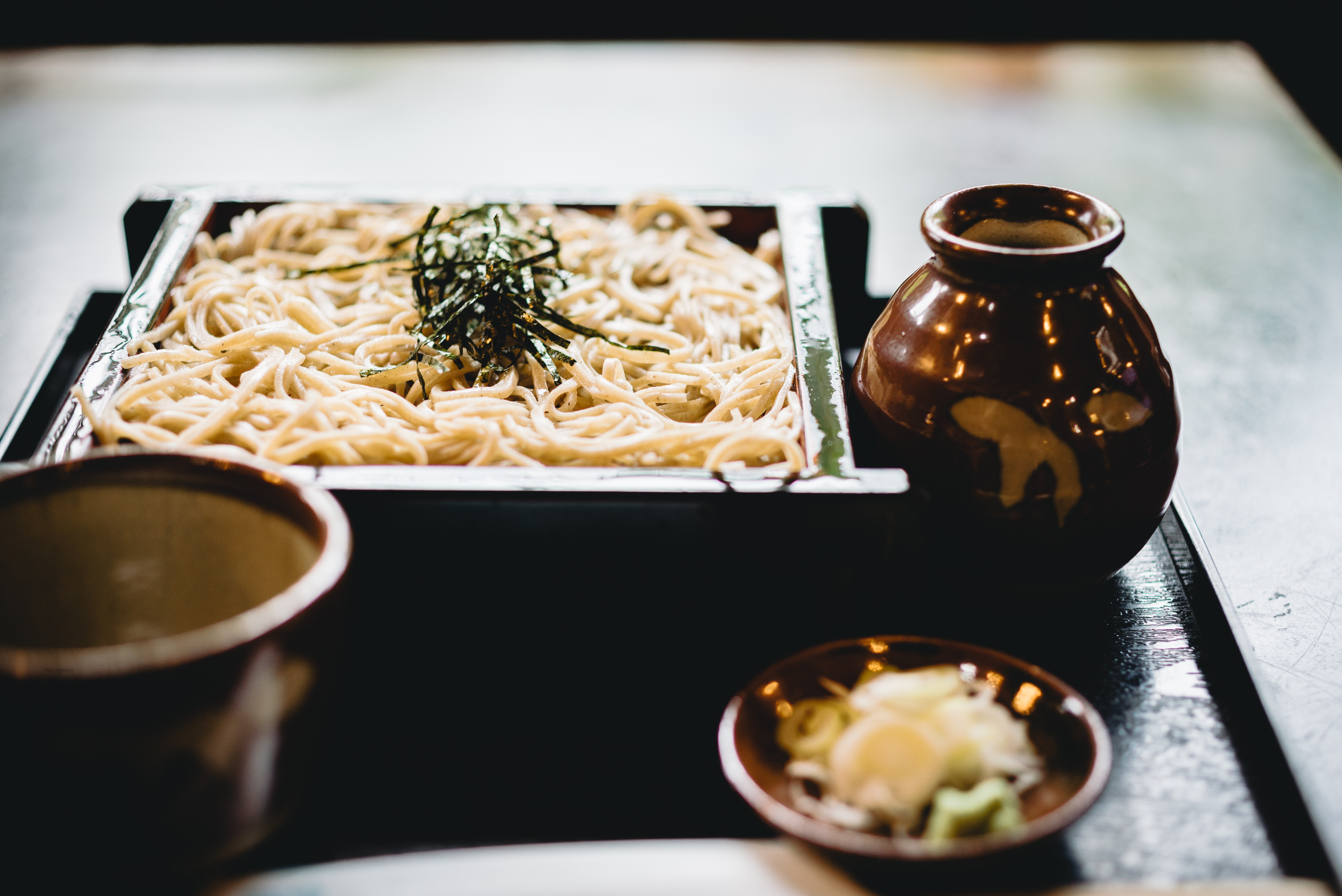 Two of the best soba experiences in Imabari
