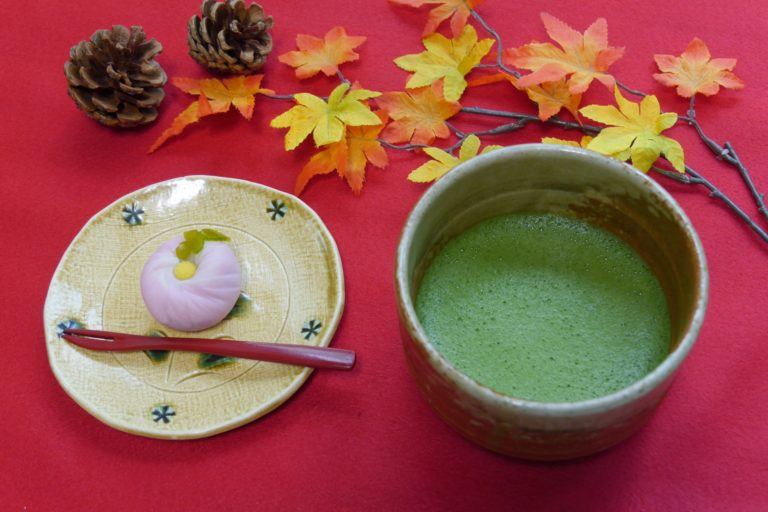 a picture of a tea ceremony