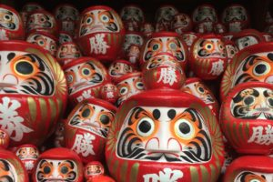 Katsuō-ji Temple in Osaka: Myths of the Daruma dolls