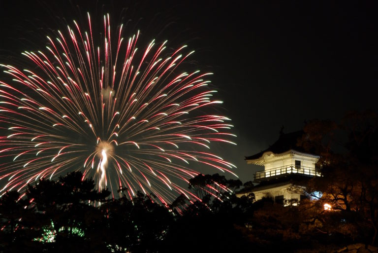 Picture of the Onmaku fireworks