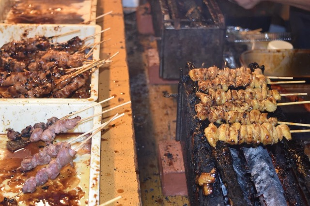 Picture of meat on sticks
