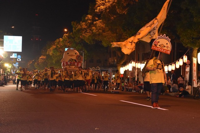 Picture of the final part of the parade