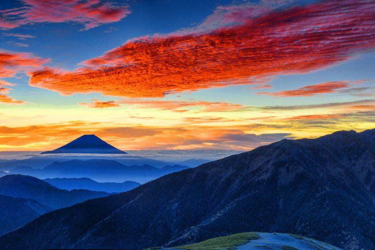 A picture of Mt. Fuji