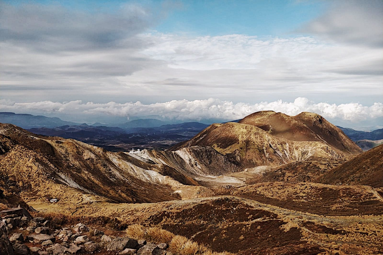 Climbing the Kuju Mountains: A journey to the highest peak in Kyushu