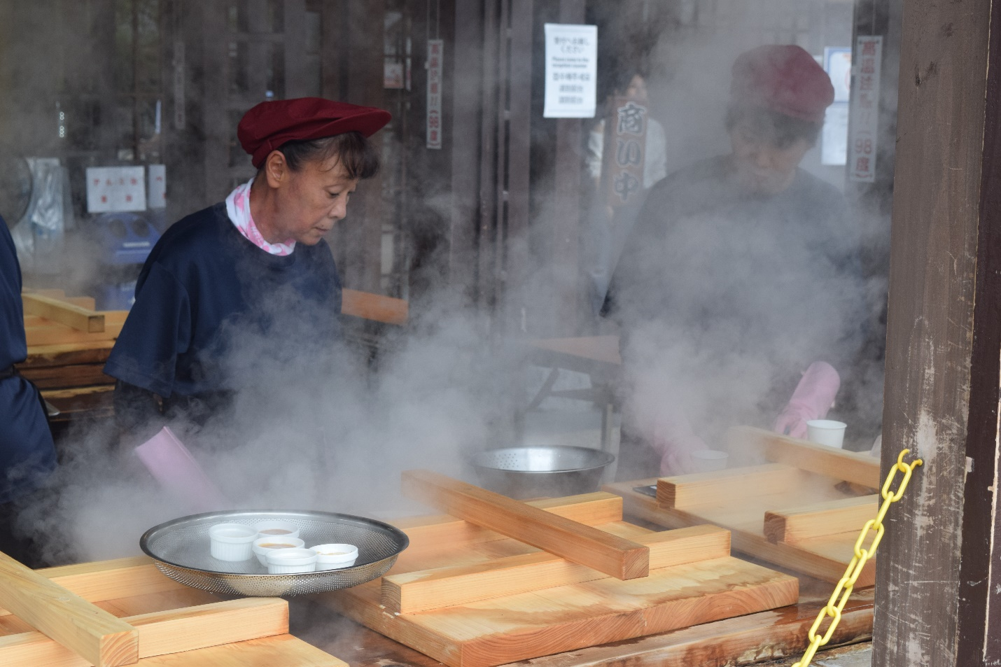 'Hell steaming': Enjoy a lunch cooked by Mother Nature in Beppu!