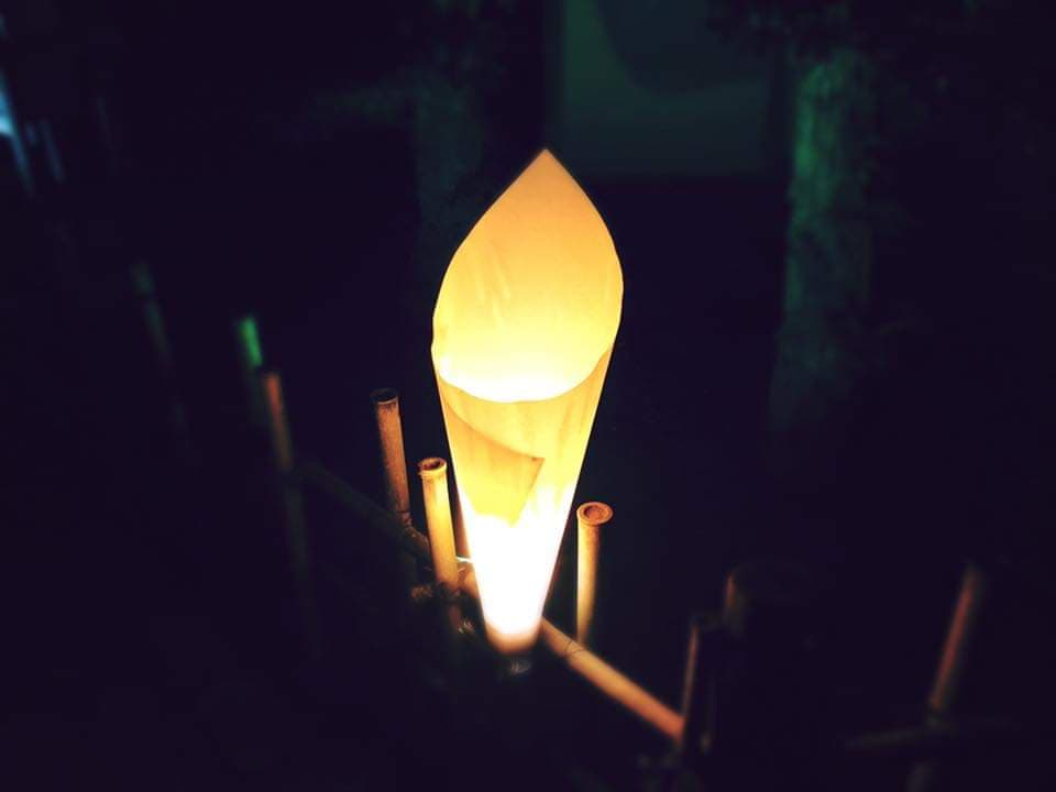 A picture of a paper lantern