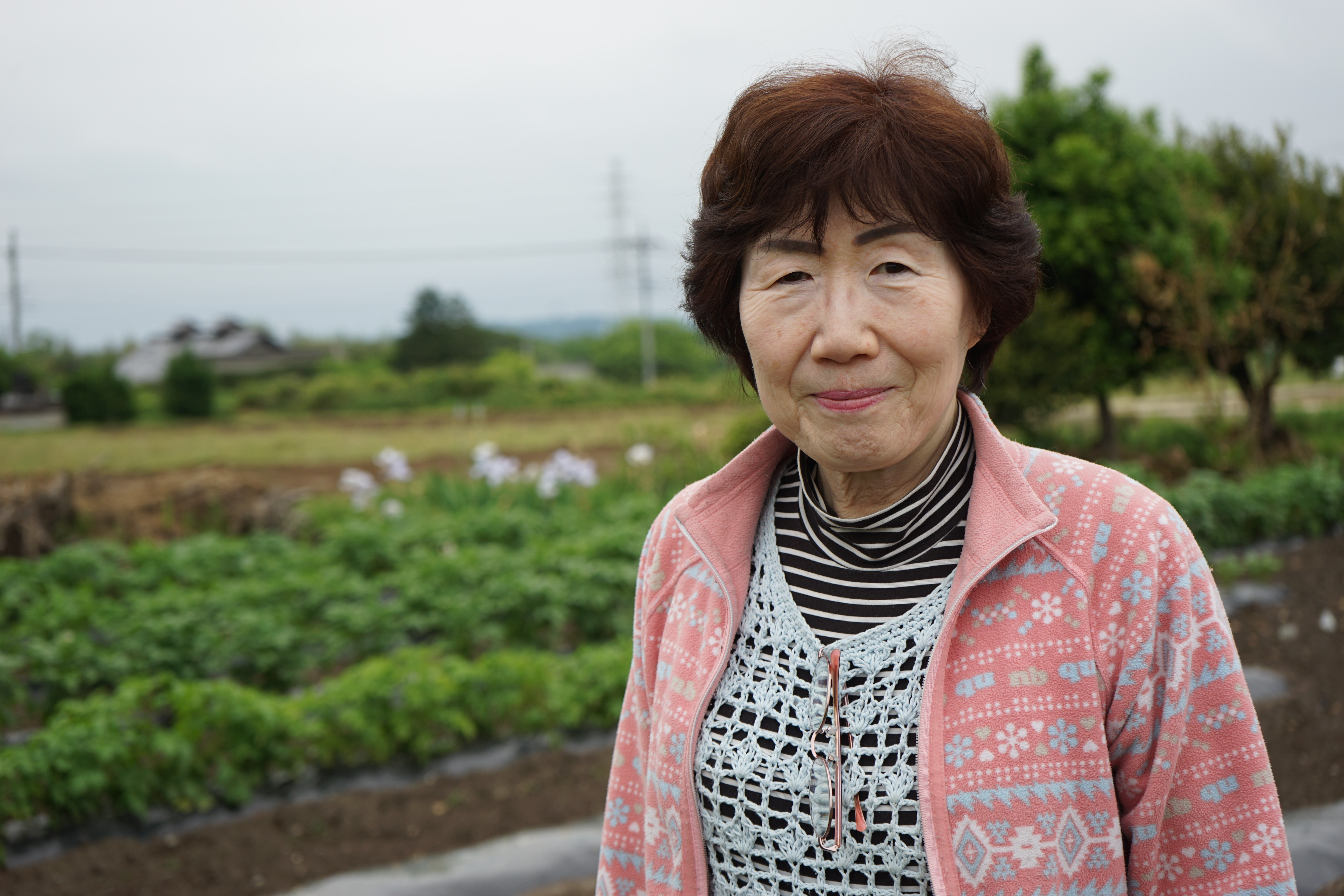 Chizuru Shimizu's self-sufficient way of life just outside of Tokyo