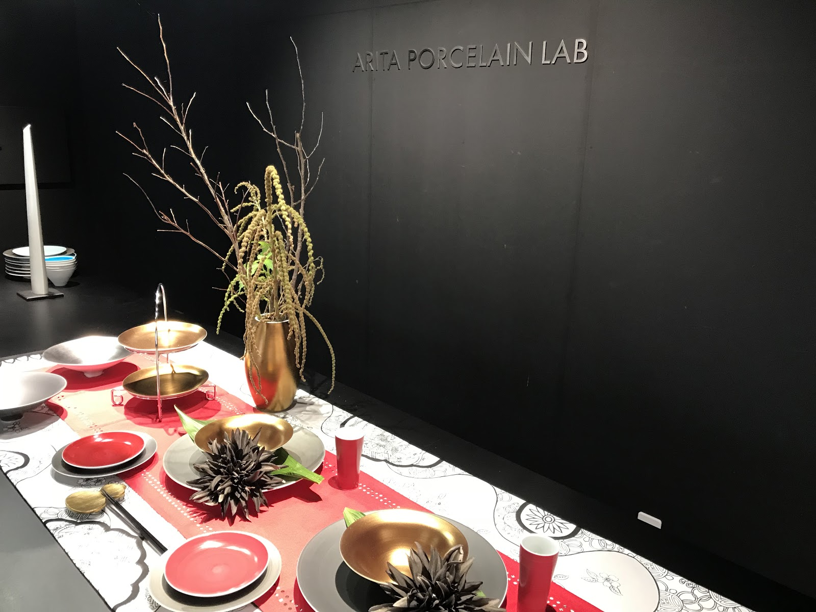 A picture of the modern flavoured pottery at Porcelain Lab