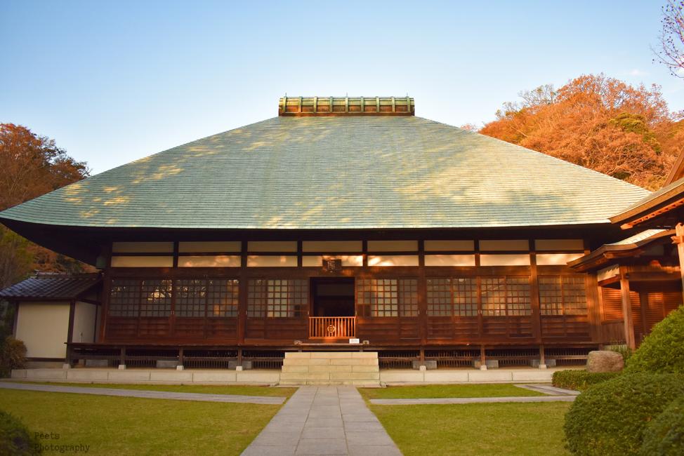 Jomyoji, Kamakura, main temple