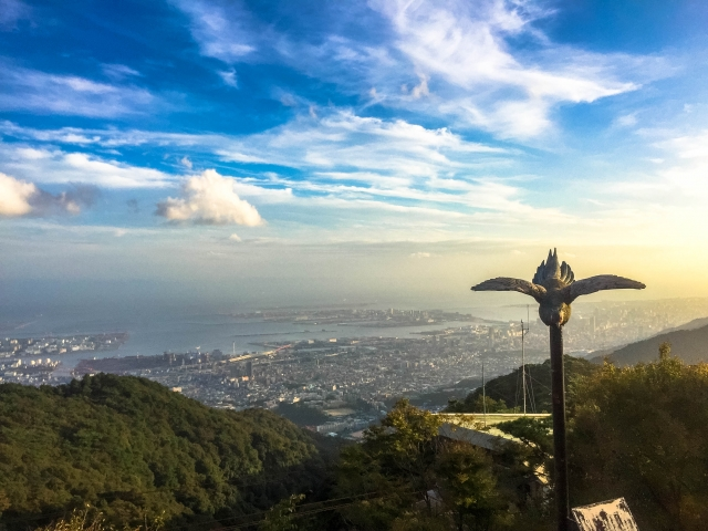 A view from Rokko-san