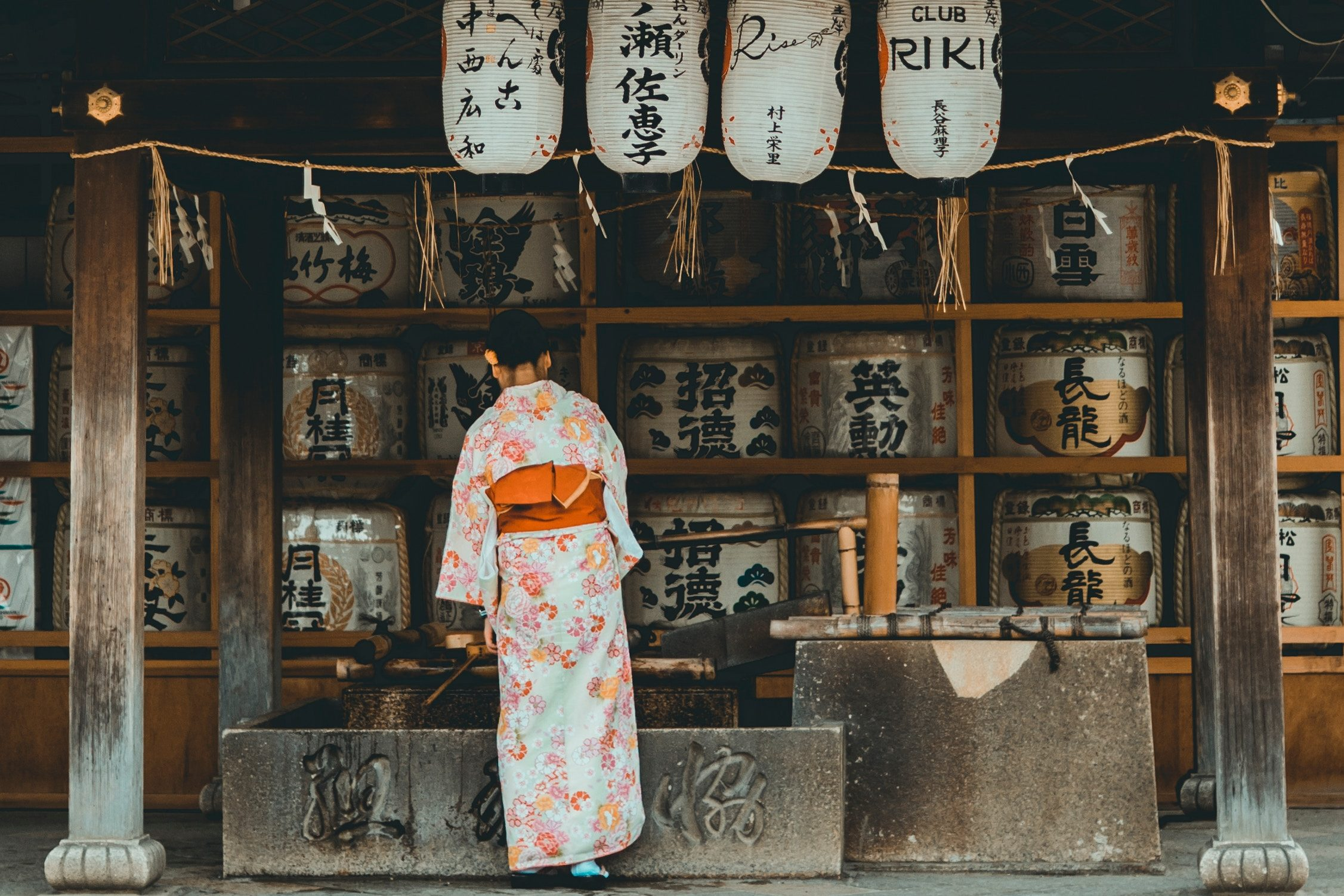 The woman with a mission #1: Patterns of love and the kimono